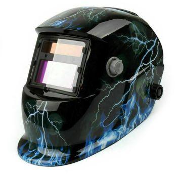 BLUE LIGHTNING Welding Helmet