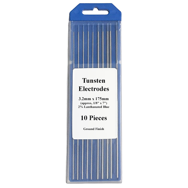 Lanthanated Electrodes