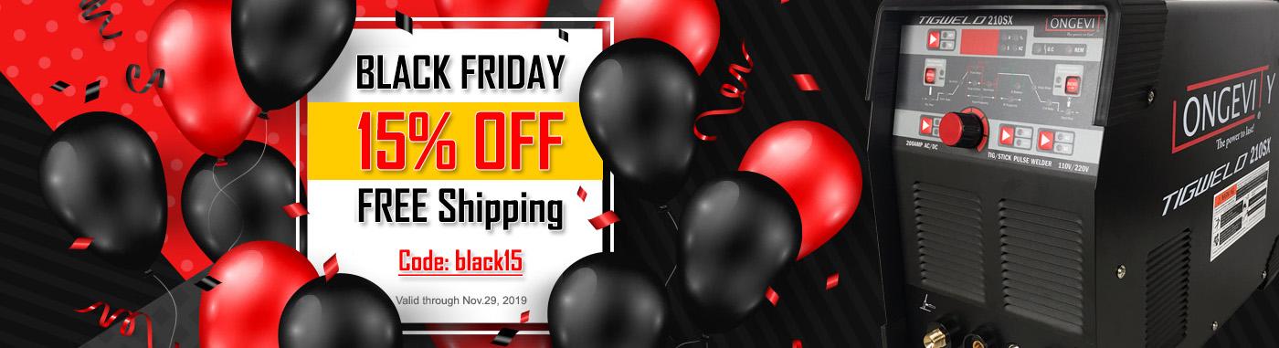 Black Friday Sale - 15% OFF