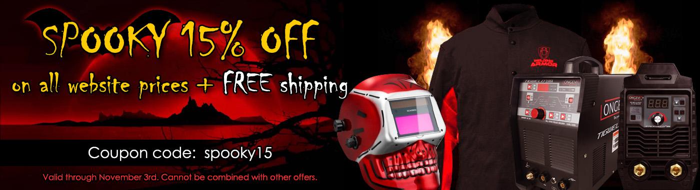 Halloween Sale - 15% OFF